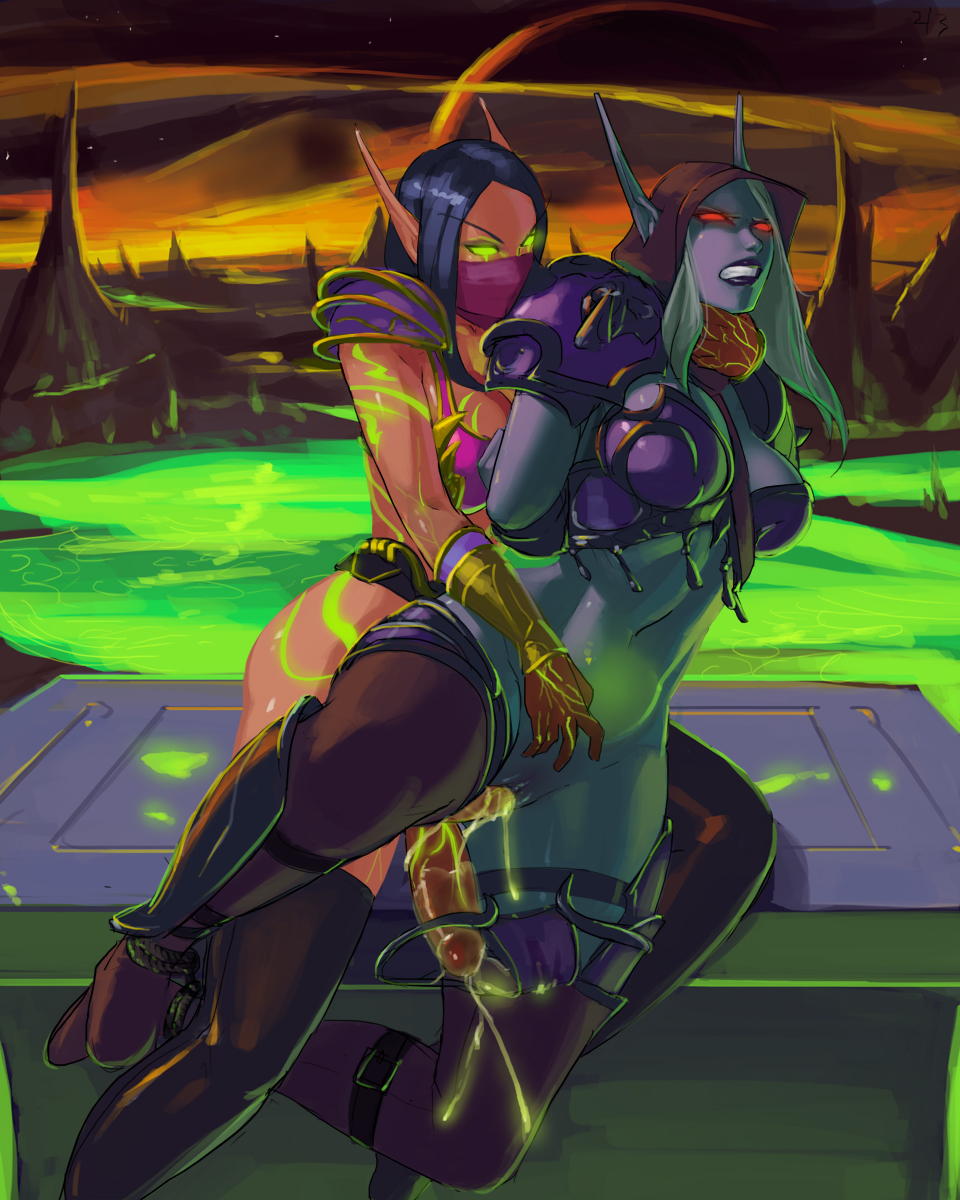 female elf of blood world warcraft League of legends gay characters