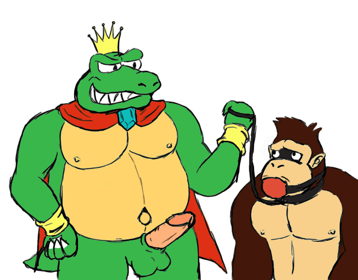 kong it you donkey spank may My very own lith art