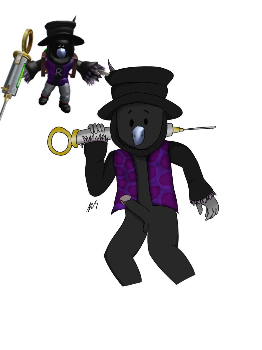 black flug and hat dr Don't eat ass in the halls