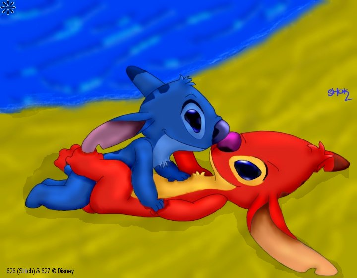lilo lilo stitch naked and Bowser i want my feet licked