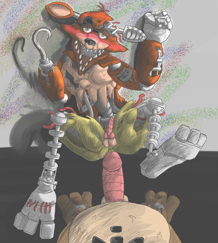 game anime five at play nights Fox from five nights at freddy's