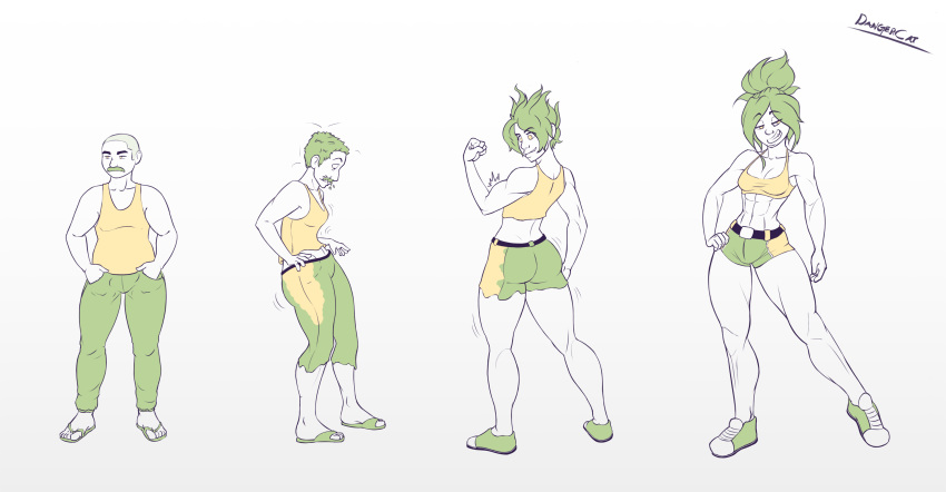 transformation magical male female to Milo murphy's law melissa porn