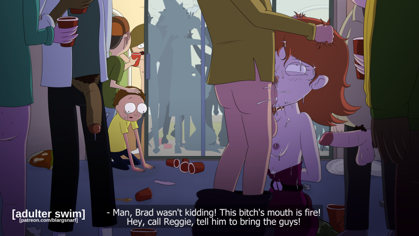 annie morty rick and Elana - champion of lust